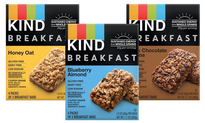 Healthy Breakfast Bar  KIND Healthy Grains Breakfast Bars 32 Count