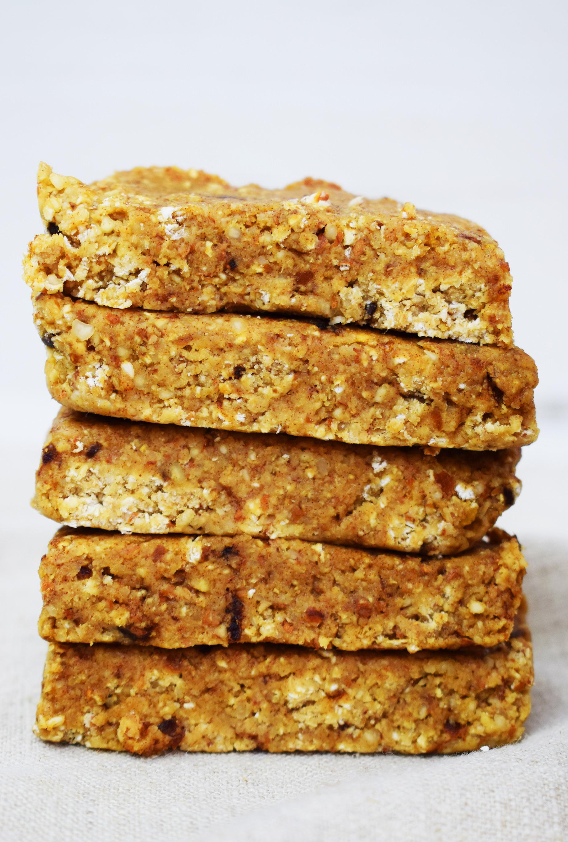 Healthy Breakfast Bar  Healthy No Bake Meal Prep Breakfast Bars Basement Bakehouse