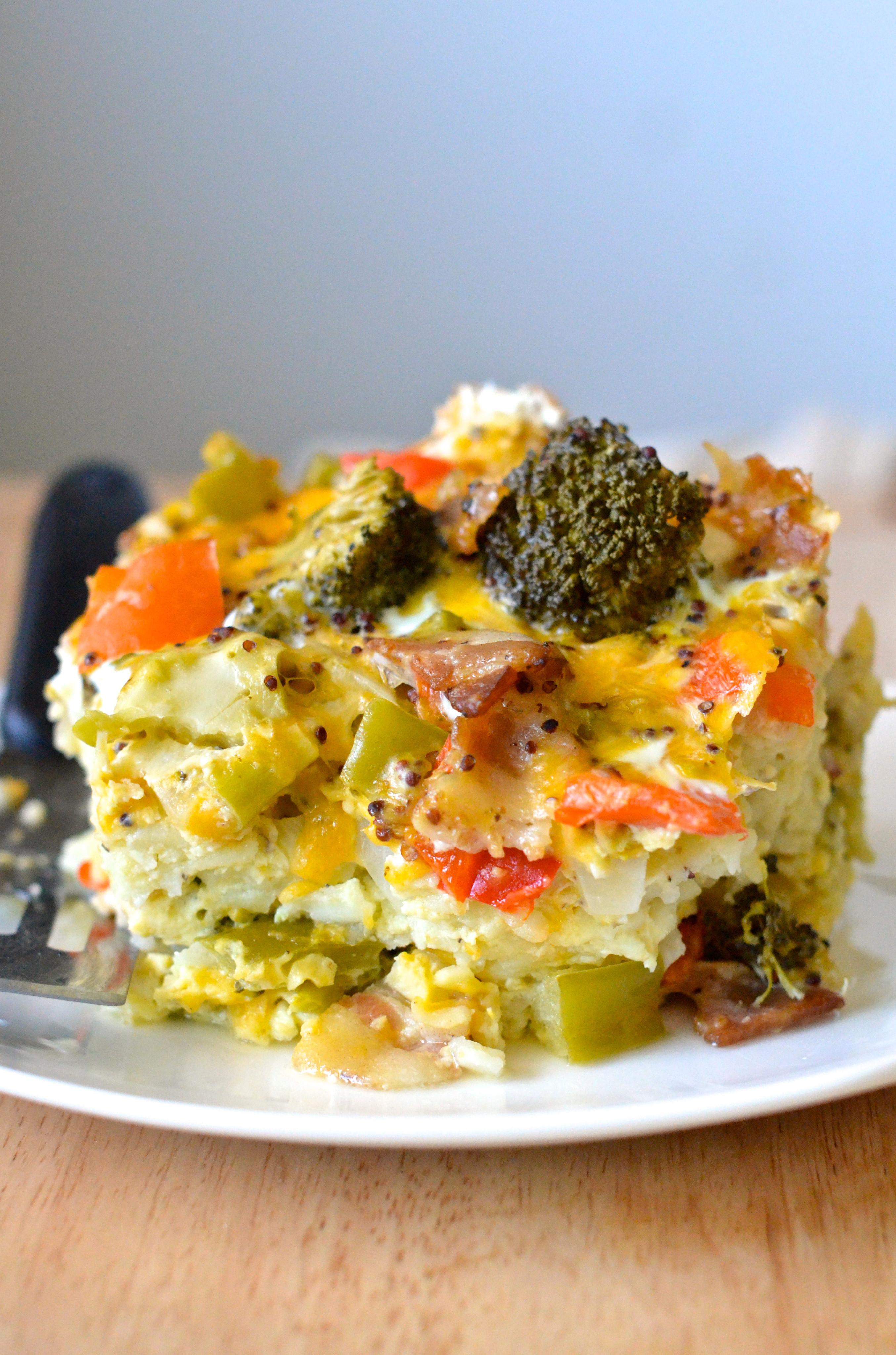 Healthy Breakfast Casseroles  Healthy Crockpot Breakfast Casserole