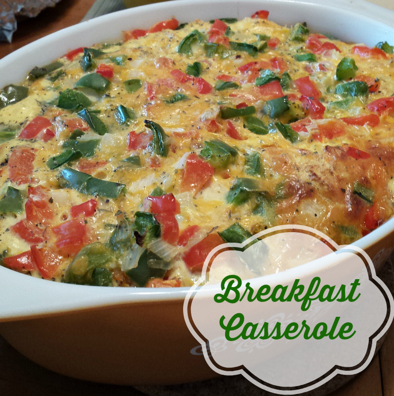 Healthy Breakfast Casseroles  Healthy Breakfast Casserole recipe