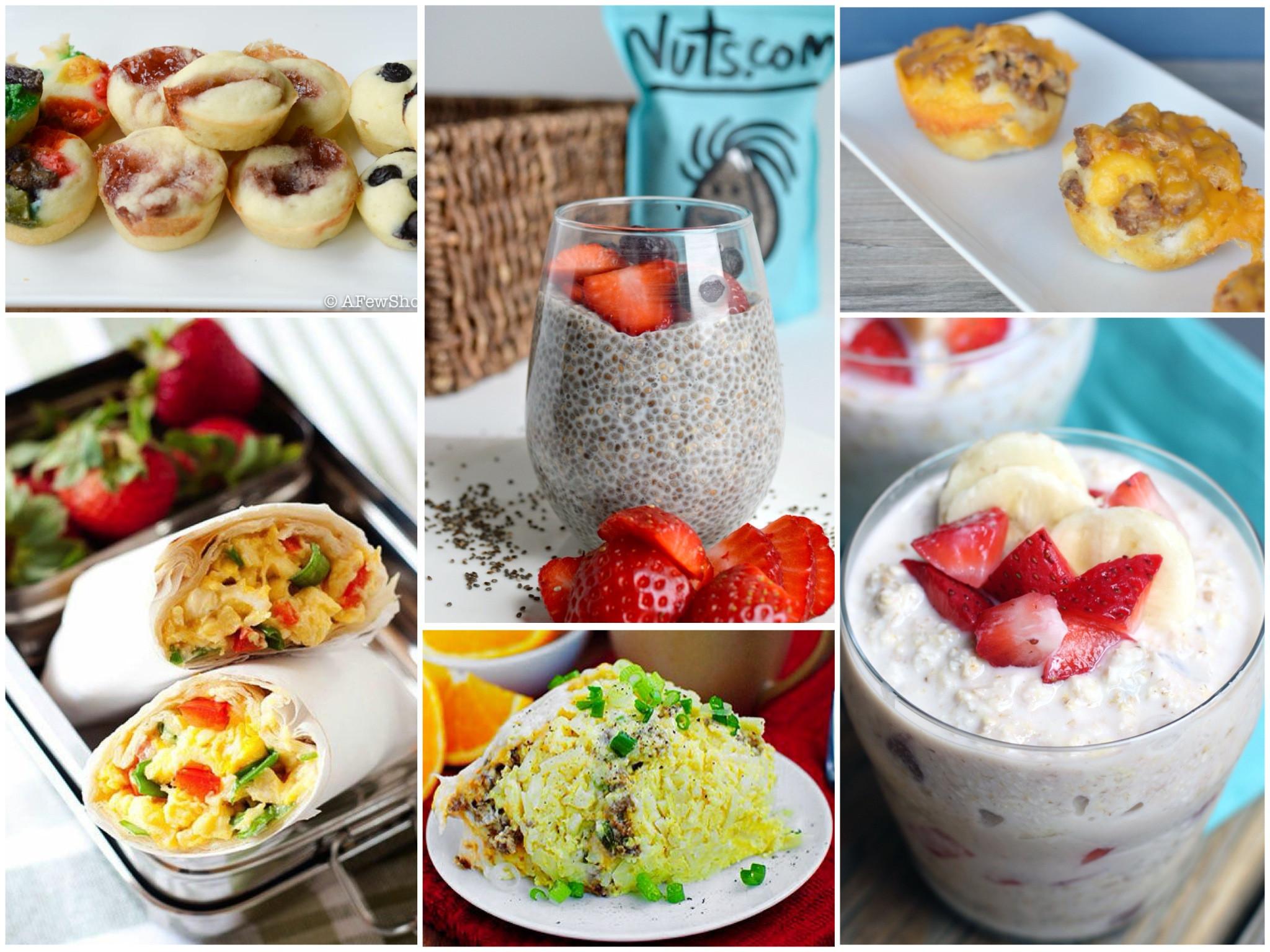 Healthy Breakfast For Kids Before School  12 The Go Breakfasts for Busy School Mornings
