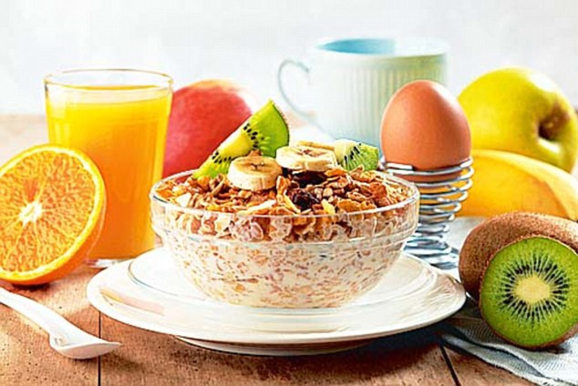 Healthy Breakfast For Kids Before School  Pupils who eat a healthy breakfast every day are more