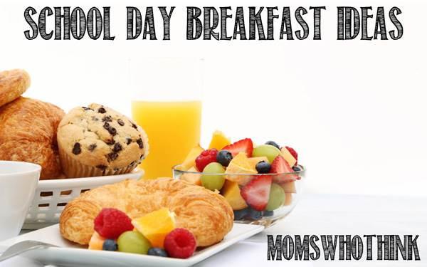 Healthy Breakfast For Kids Before School  Moms Who Think School Day Breakfast Ideas