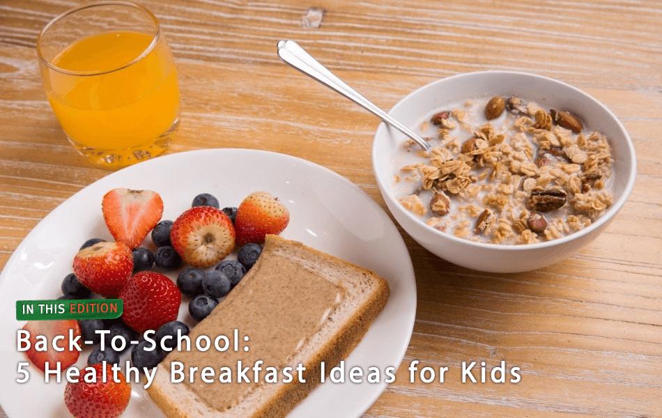 Healthy Breakfast For Kids Before School  E Magazine