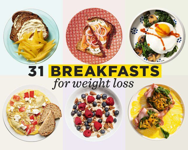 Healthy Breakfast For Weight Loss  31 Healthy Breakfast Ideas That Will Promote Weight Loss