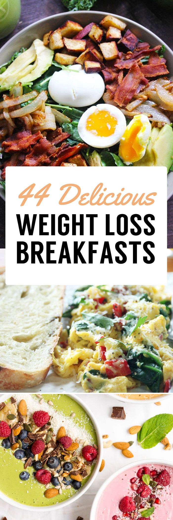 Healthy Breakfast For Weight Loss  The 25 best Weight loss meals ideas on Pinterest