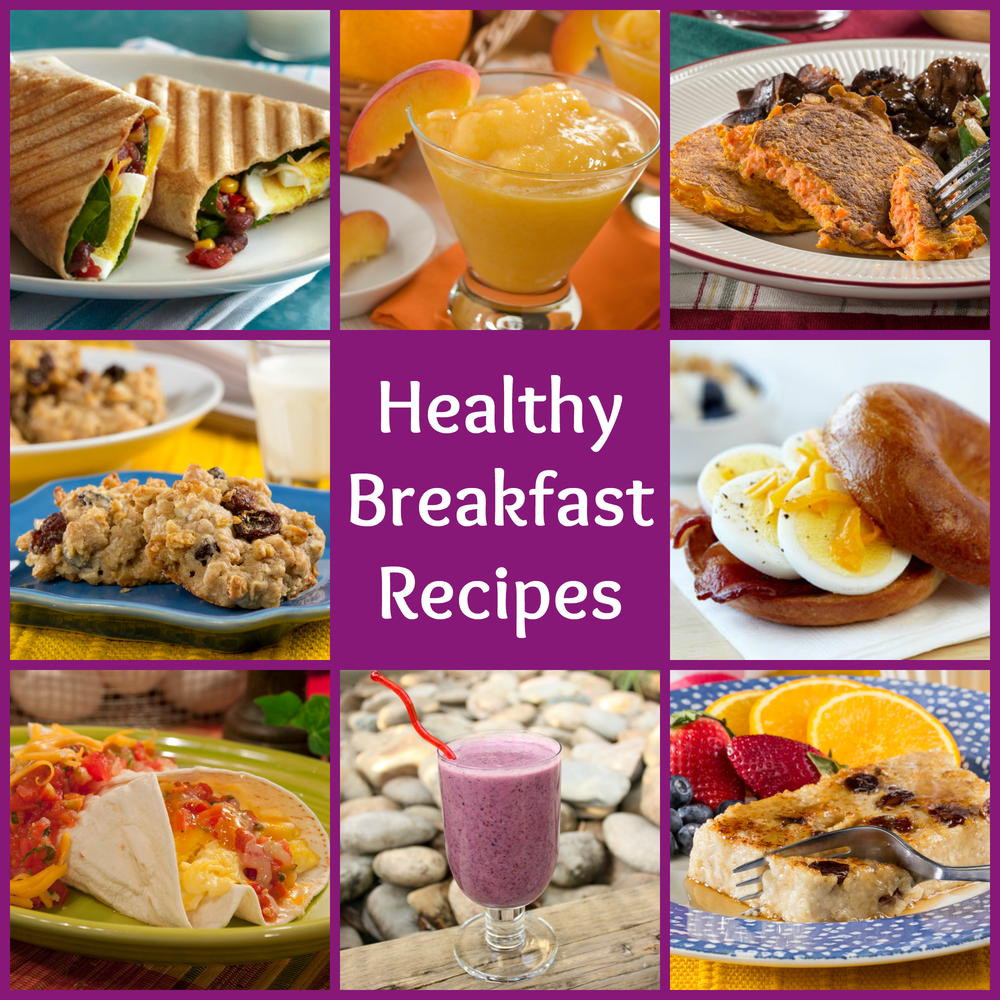 Healthy Breakfast Items  18 Healthy Breakfast Recipes to Start Your Day Out Right