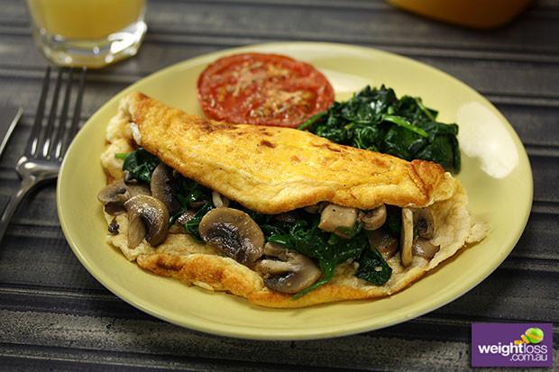 Healthy Breakfast Omelette  Soufflé Omelette