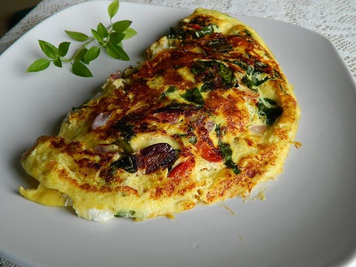 Healthy Breakfast Omelette  Healthy Greek Omelet