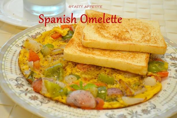 Healthy Breakfast Omelette  Spanish Omelette Recipe Healthy Breakfast Ideas