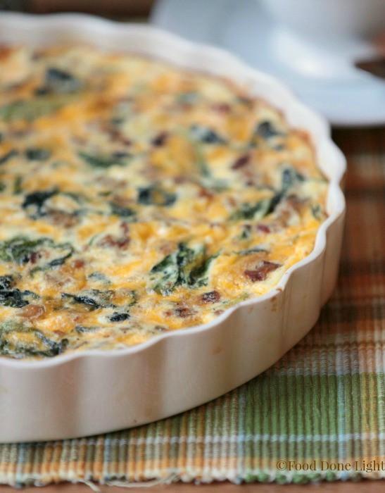 Healthy Breakfast Quiche  healthy breakfast quiche