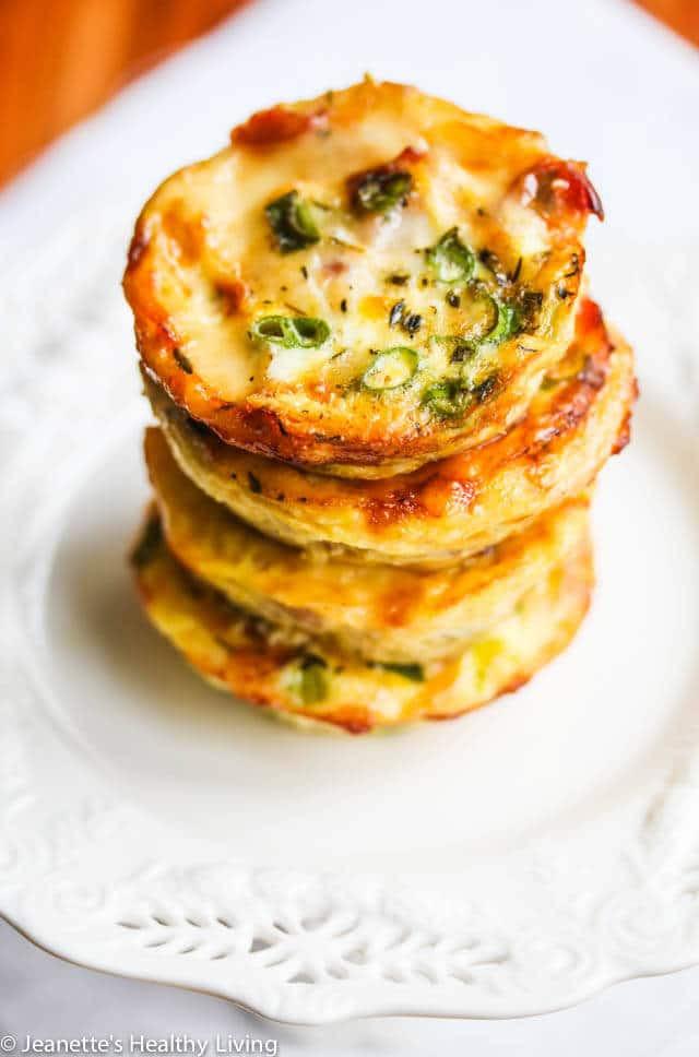 Healthy Breakfast Quiche  healthy mini breakfast quiche