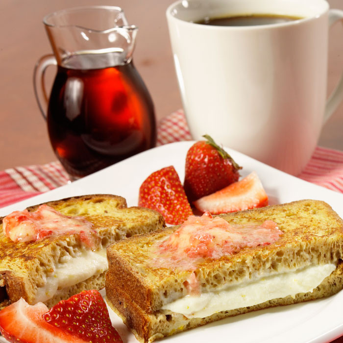 Healthy Breakfast Sandwich Recipes  Healthy Breakfast Sandwich Recipe Stuffed French Toast