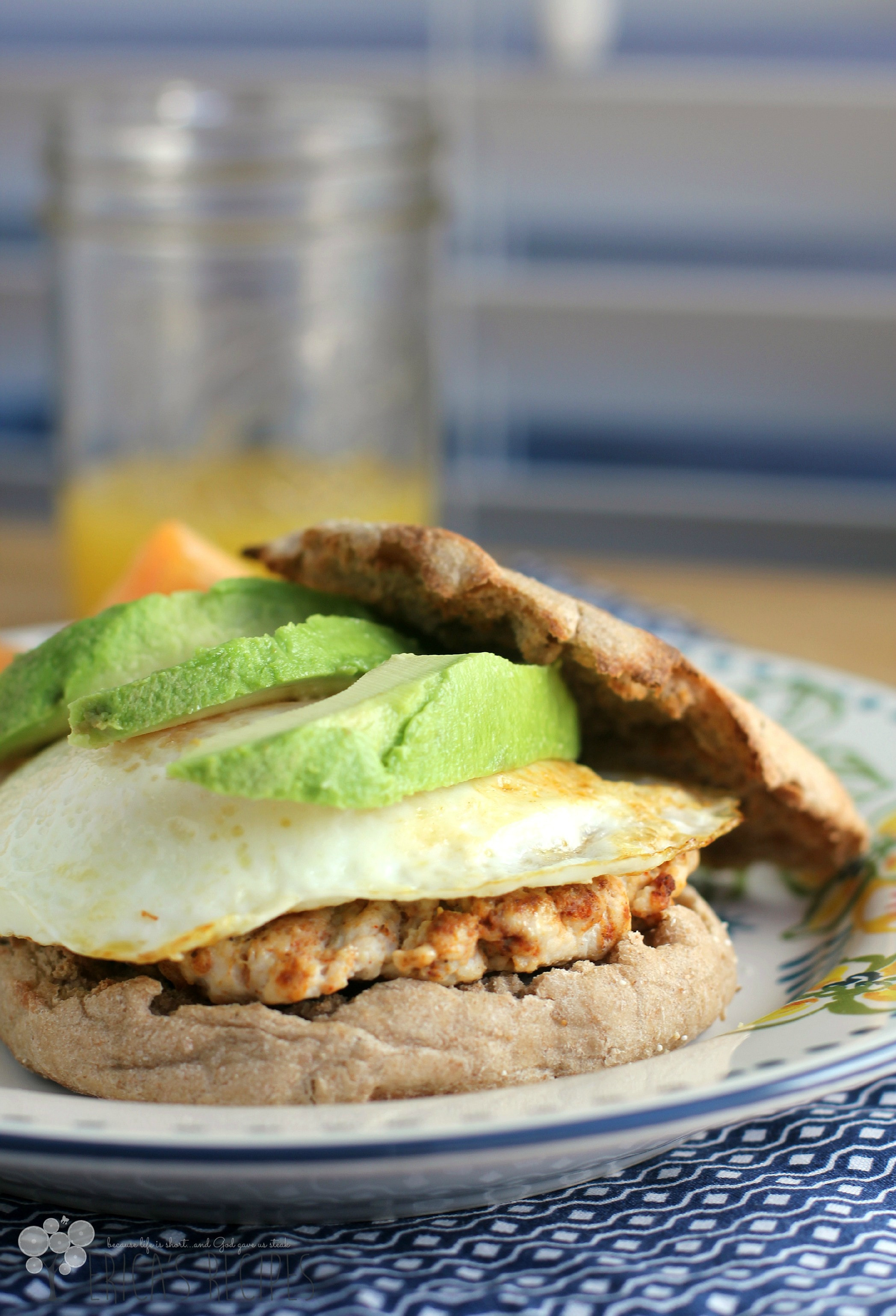 Healthy Breakfast Sandwich Recipes  Healthy Breakfast Sandwich with Homemade Turkey Chorizo