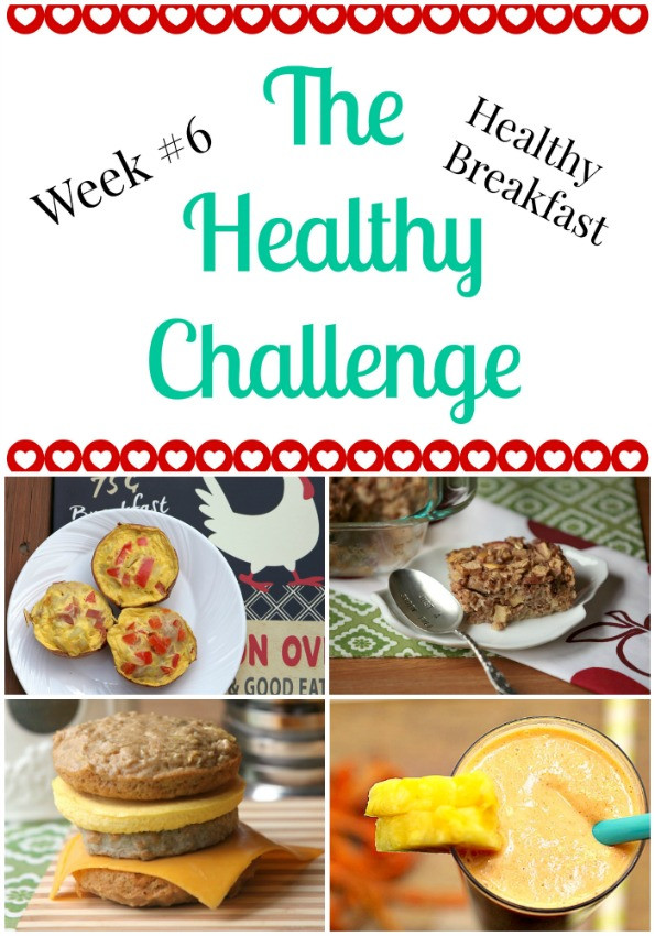 Healthy Breakfast To Lose Weight  Healthy Challenge 6 Healthy Breakfast Food Done Light