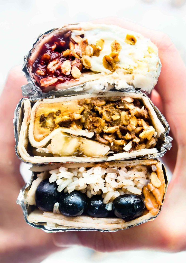 Healthy Breakfast Wraps  Grab and Go Gluten Free Breakfast Wraps 3 Ways