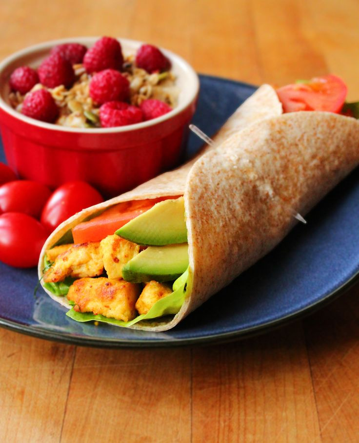 Healthy Breakfast Wraps  Scrambled Tofu Breakfast Wrap Recipe