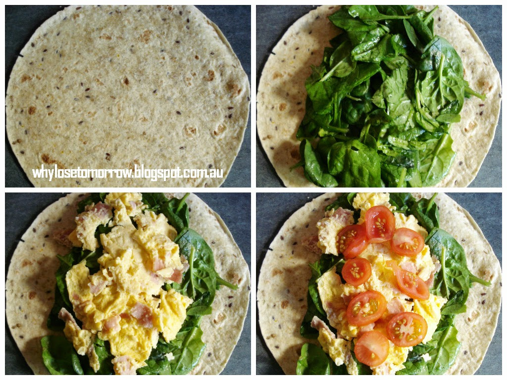 Healthy Breakfast Wraps  Why Lose Tomorrow A Healthy Way To Wrap Weight Loss