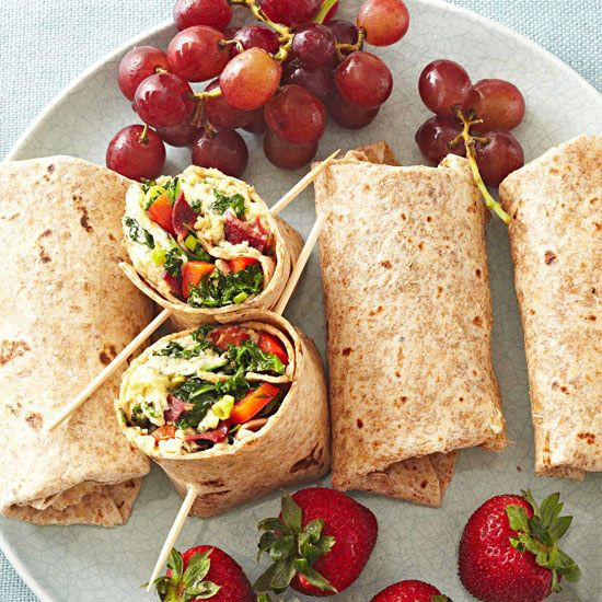 Healthy Breakfast Wraps  64 best ideas about Greens for Wraps and Rolls on