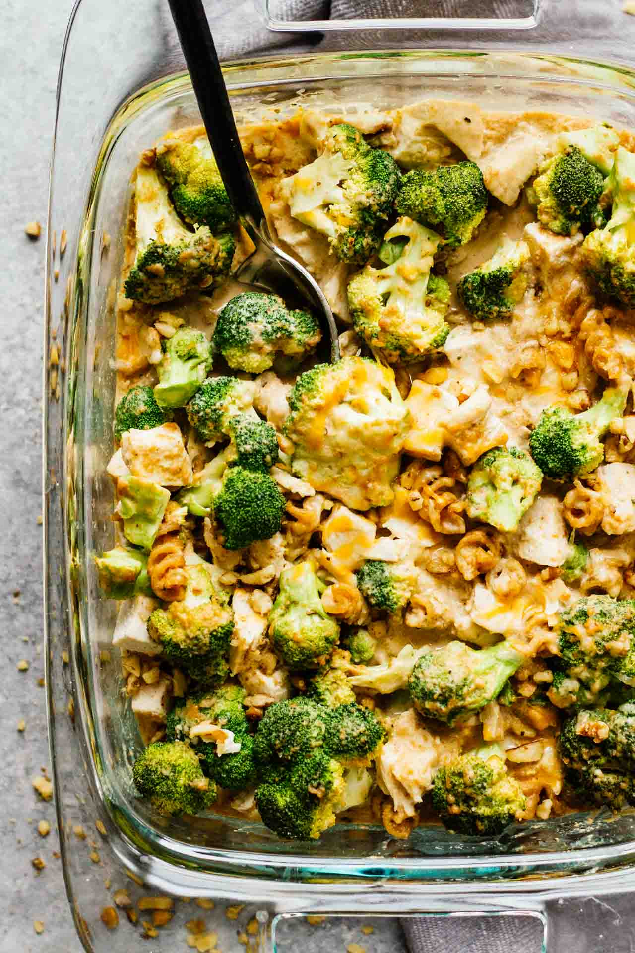 Healthy Broccoli Casserole  Healthy Chicken Broccoli Pasta Casserole Jar Lemons