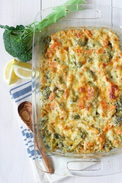 Healthy Broccoli Casserole  Healthy Chicken Broccoli Casserole Grain Free Option