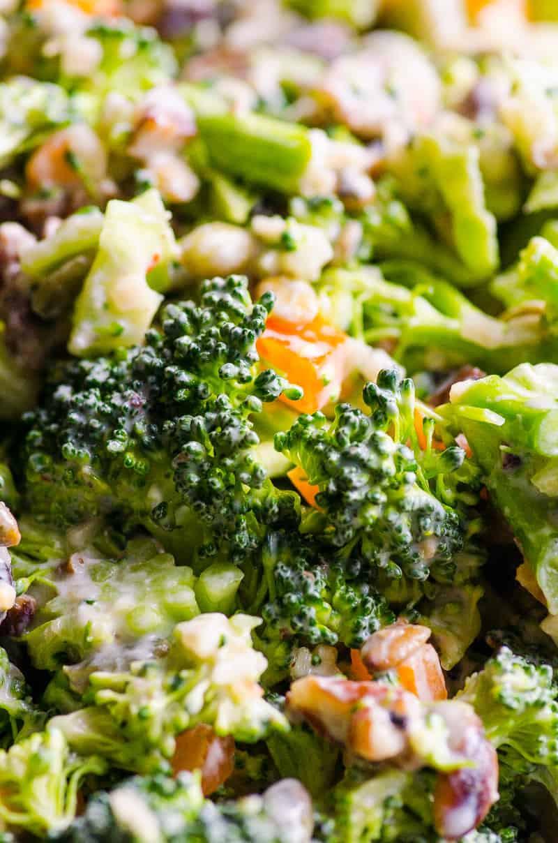 Healthy Broccoli Salad Recipe  Healthy Broccoli Salad iFOODreal Healthy Family Recipes