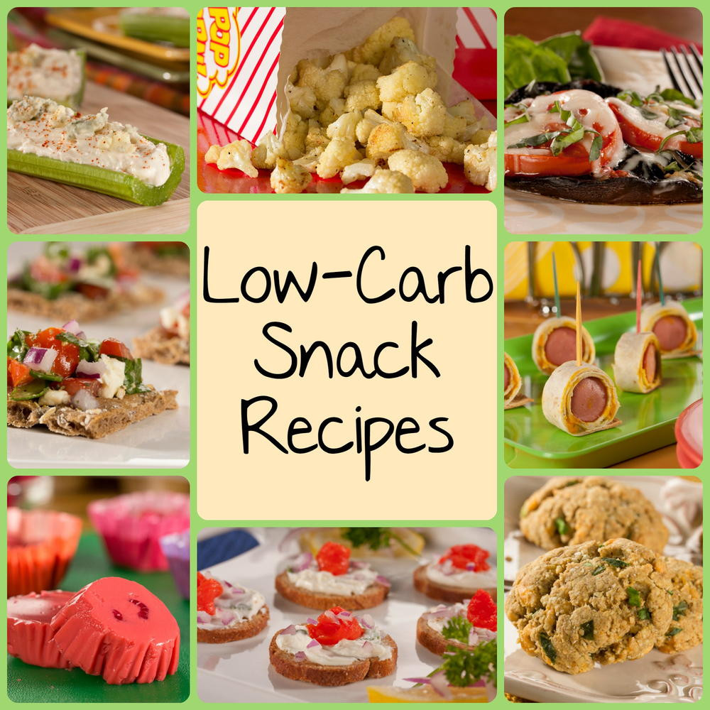 Healthy Carb Snacks  10 Best Low Carb Snack Recipes
