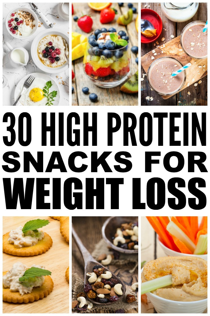 Healthy Carb Snacks  30 High Protein Snacks for Weight Loss