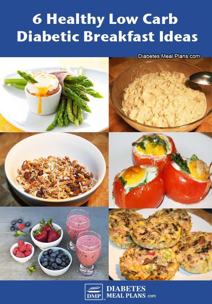 Healthy Carbs For Breakfast  6 Healthy low carb diabetic breakfast ideas
