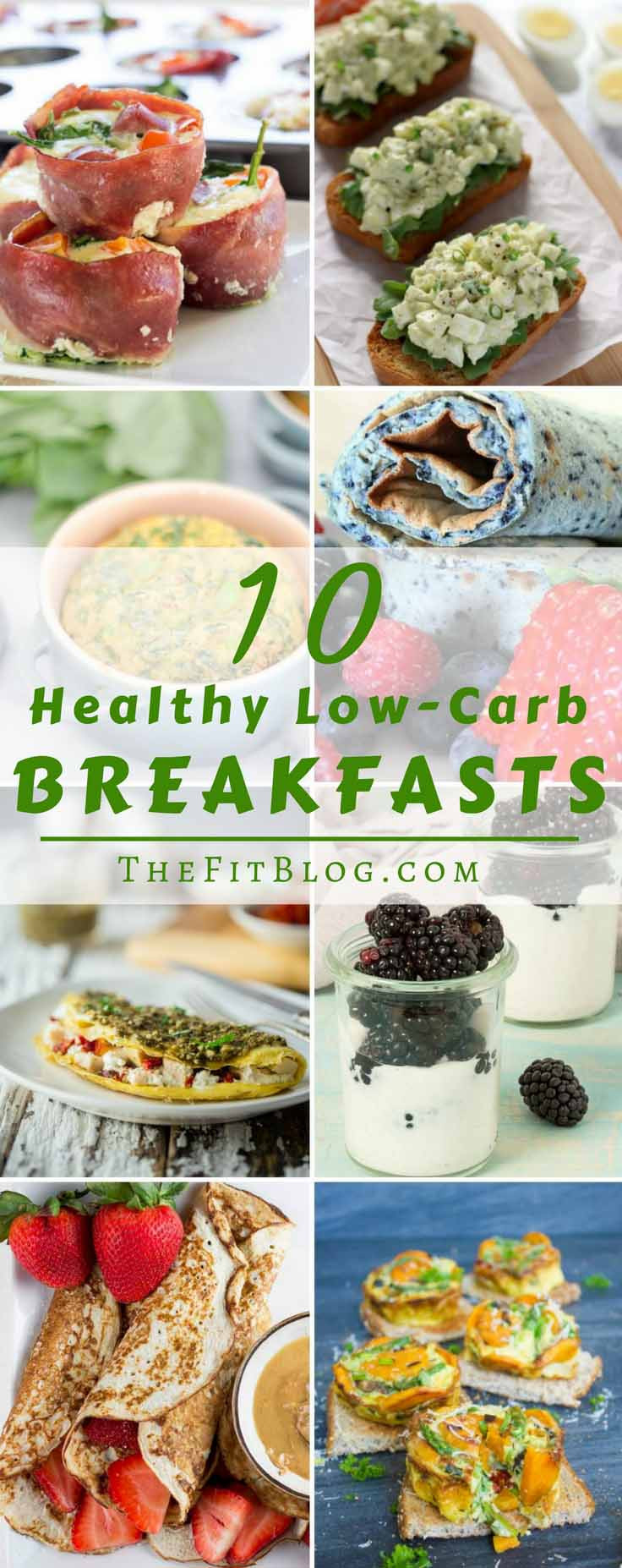 Healthy Carbs For Breakfast  10 Healthy Low Carb Breakfast Recipes