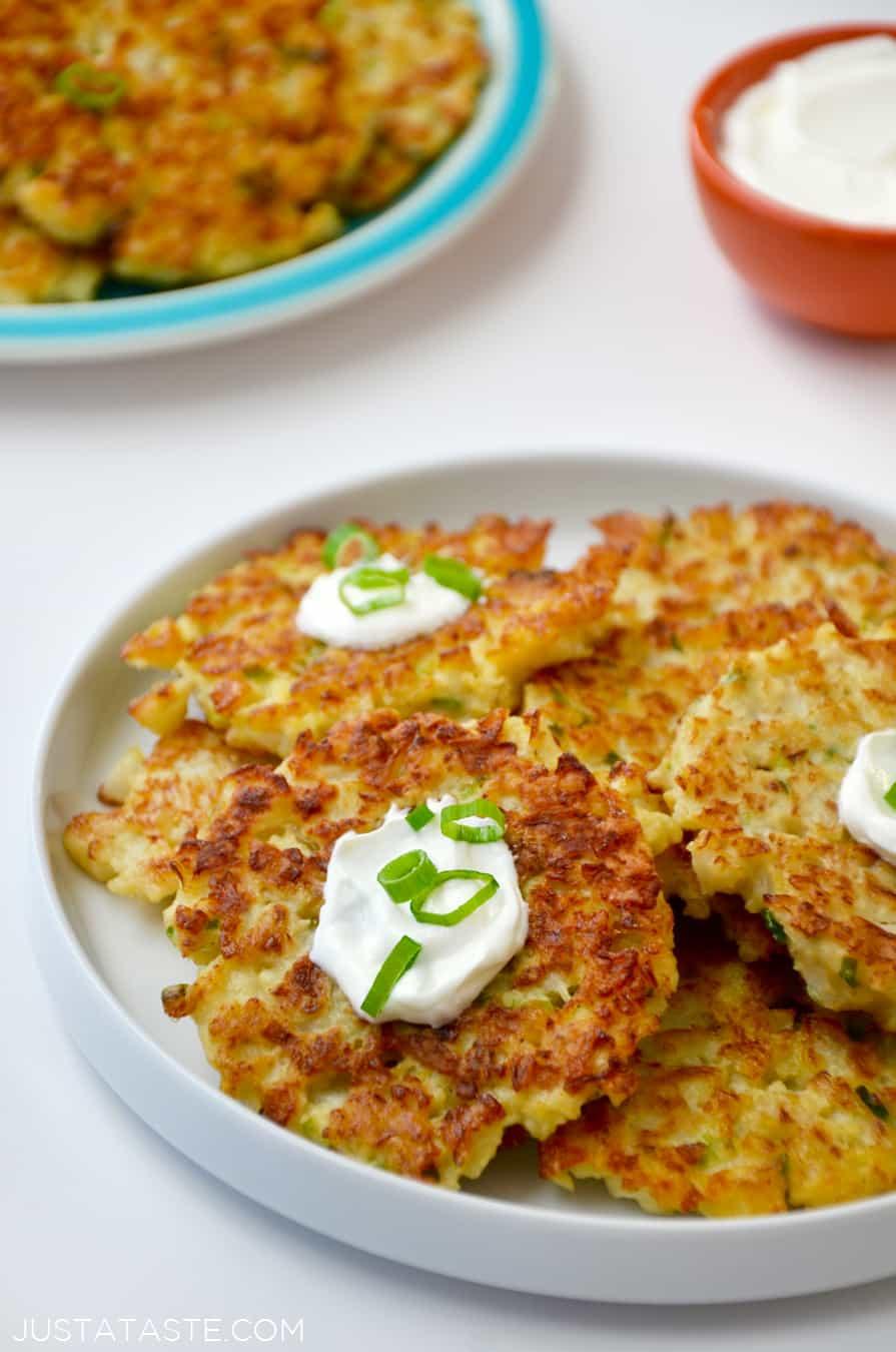 Healthy Cauliflower Recipes  Healthy Cauliflower Fritters