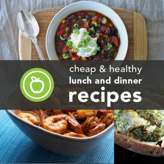 Healthy Cheap Dinners  88 Cheap and Healthy Lunch and Dinner Recipes