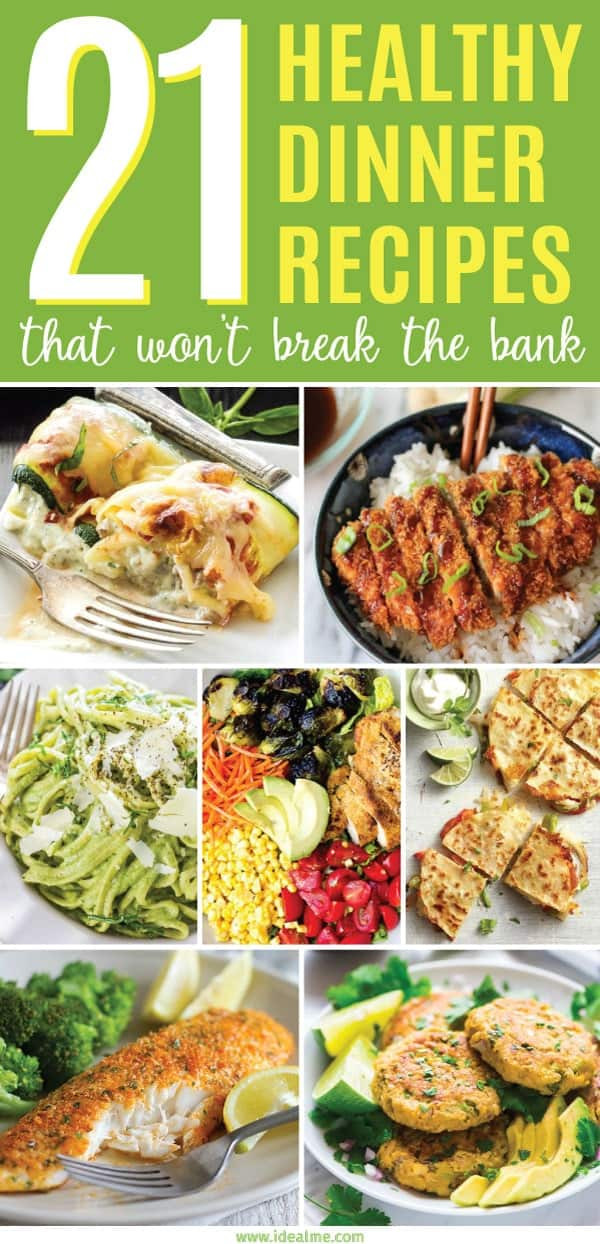 Healthy Cheap Dinners  21 Healthy Dinner Recipes That Won t Break the Bank Ideal Me