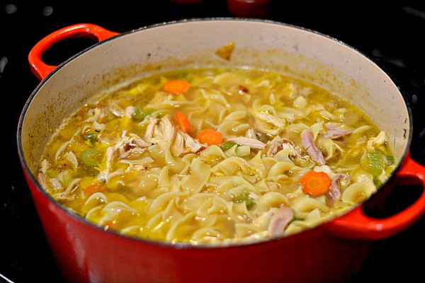 Healthy Chicken Noodle Soup Recipe  Homemade Chicken Noodle Soup Recipe Peanut Butter Runner