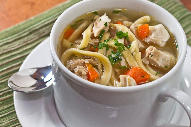 Healthy Chicken Noodle Soup Recipe  Healthy Chicken Noodle Soup