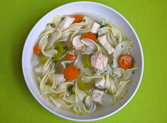 Healthy Chicken Noodle Soup Recipe  Healthy Recipe For Chicken Noodle Soup