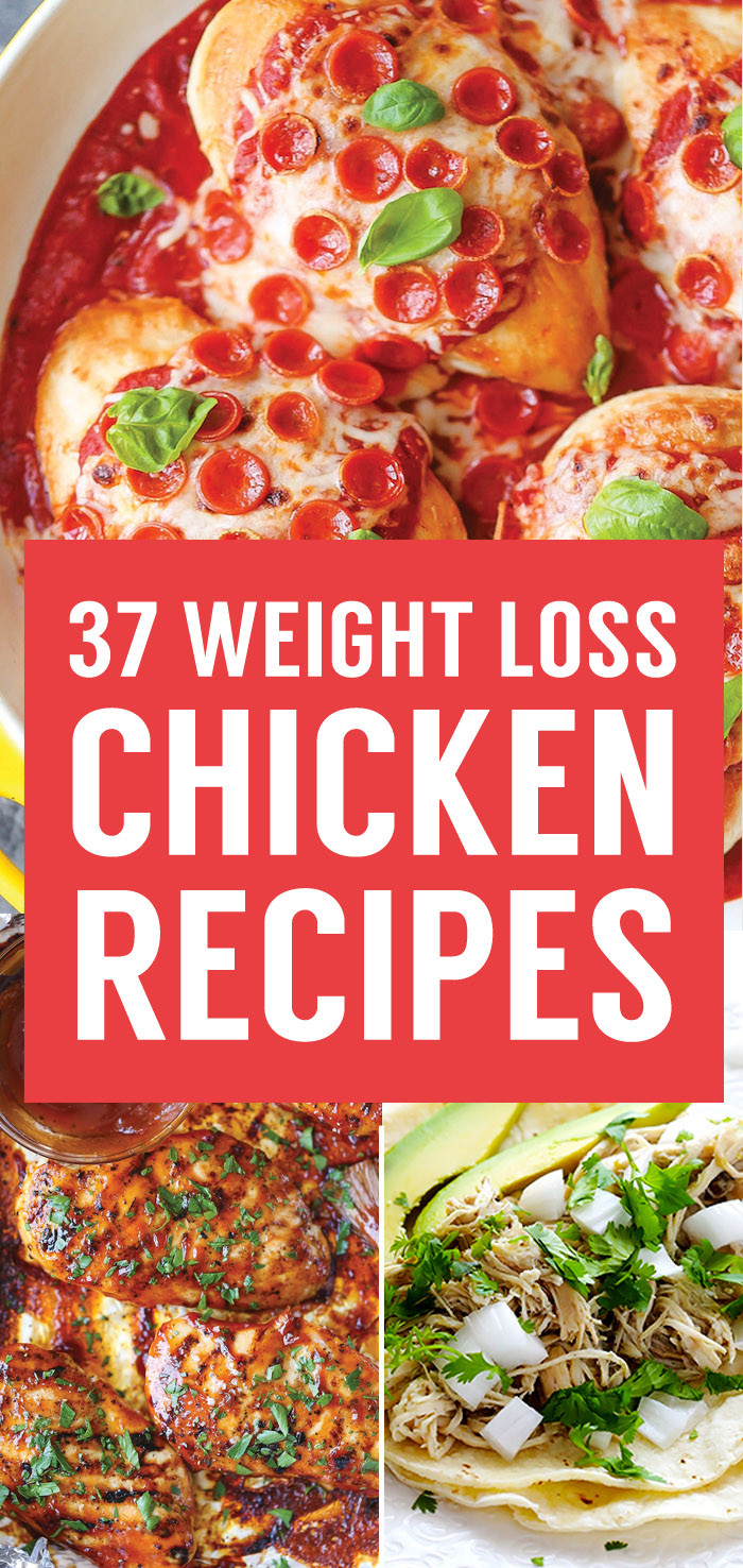 Healthy Chicken Recipes For Weight Loss  37 Healthy Weight Loss Chicken Recipes That Are Packed