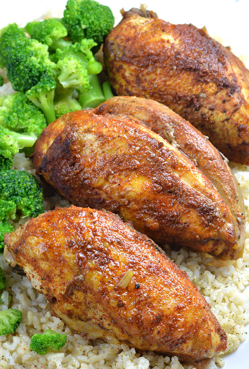 Healthy Chicken Slow Cooker Recipes  Healthy Slow Cooker Chicken Breast Recipe OMG Chocolate