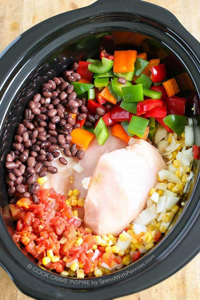 Healthy Chicken Slow Cooker Recipes  Slow Cooker Chicken Chili Hearty & Healthy Spend With