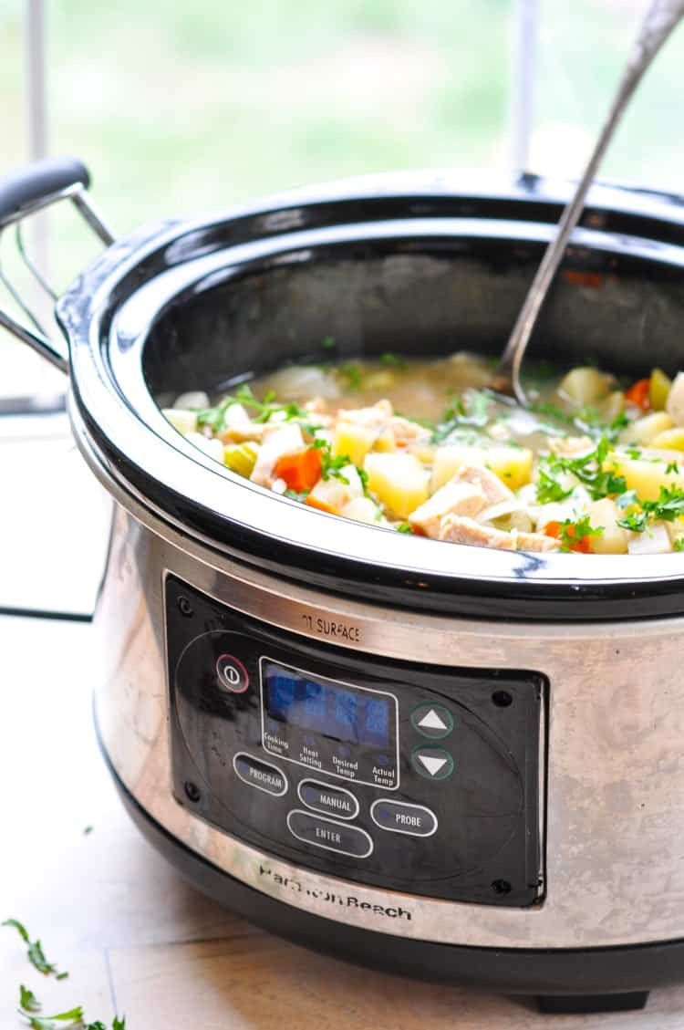 Healthy Chicken Slow Cooker Recipes  Healthy Slow Cooker Chicken Stew The Seasoned Mom