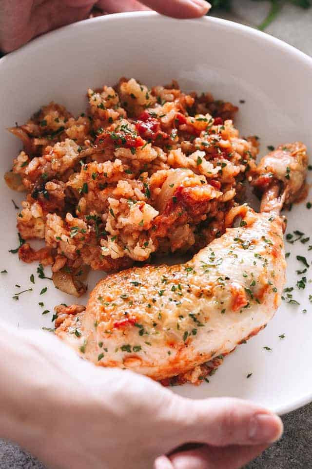 Healthy Chicken Slow Cooker Recipes  Slow Cooker Chicken & Rice