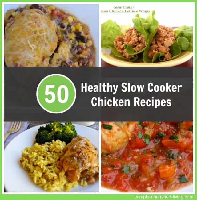 Healthy Chicken Slow Cooker Recipes  Healthy Slow Cooker Chicken Recipes for Weight Watchers