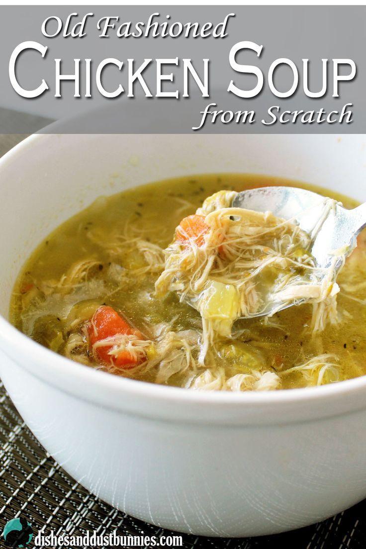 Healthy Chicken Soup  Best 25 Healthy chicken soup ideas on Pinterest