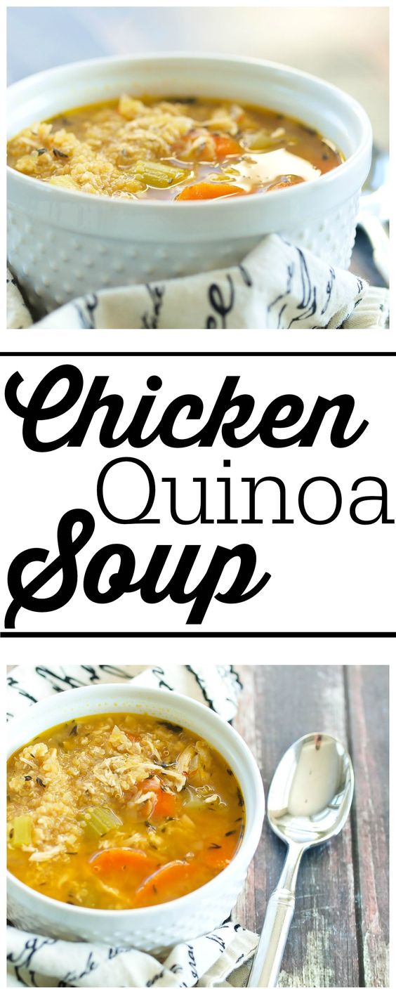 Healthy Chicken Soup  Pinterest • The world's catalog of ideas