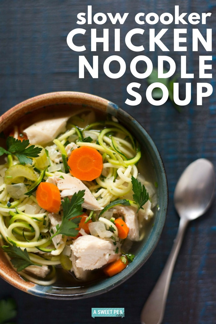 Healthy Chicken Soup  Slow Cooker Chicken Noodle Soup A Healthy Meal Option