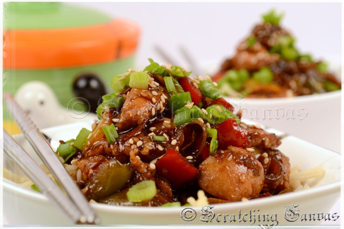 Healthy Chinese Recipes  Sesame Chicken