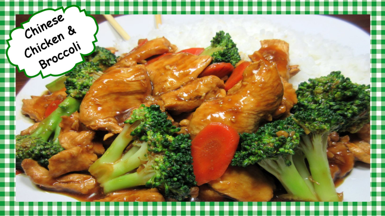Healthy Chinese Recipes  Tess Cooks4u How to Make the Best Chicken and Broccoli