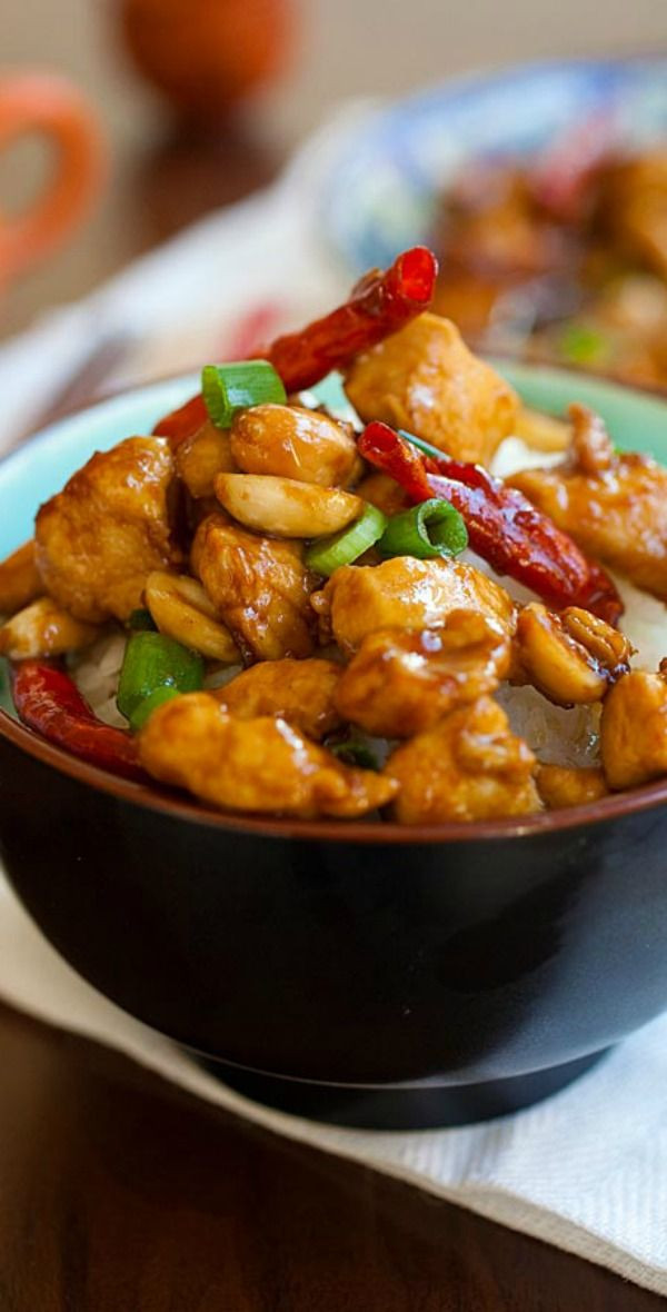 Healthy Chinese Recipes  Kung Pao Chicken Recipe