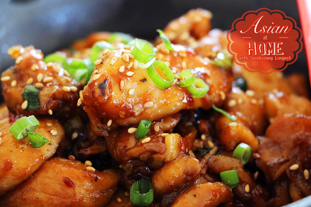 Healthy Chinese Recipes  Easy & Healthy Orange Chicken Recipe & Video Seonkyoung