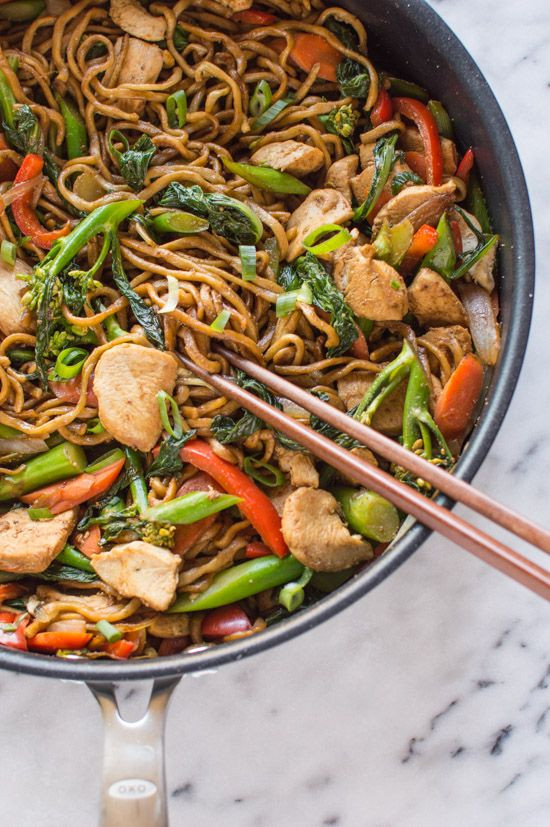 Healthy Chinese Recipes  Best 25 Chicken chow mein ideas on Pinterest